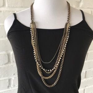 J Crew Multistrand Necklace Nice